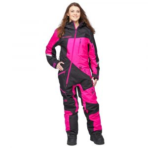 Sweep Snow Queen 2 ladies insulated suit- black/pink