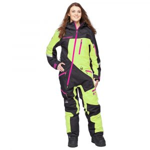 Sweep Snow Queen 2 ladies insulated suit- black/yellow/pink