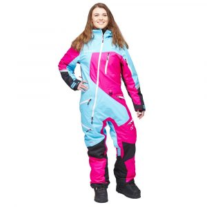 Sweep Snow Queen 2 ladies insulated suit- blue/pink/white