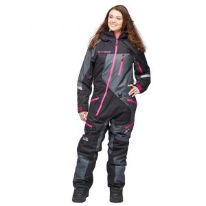 Sweep Snow Queen 2 ladies insulated suit- black/grey/pink
