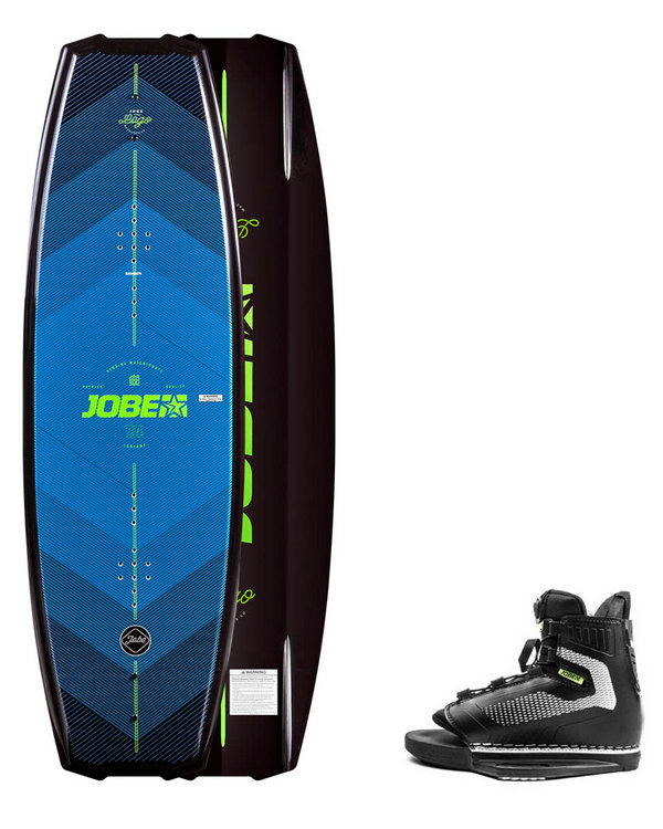 Jobe Logo Series Wakeboard set 138 / Maze bindning 40-46