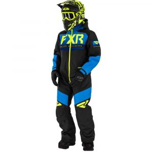 Fxr Helium Monosuit black/blue/fade