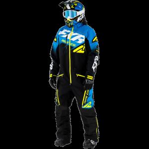 FXR 21 M CX Lite Monosuit Black/Blue/Hi vis