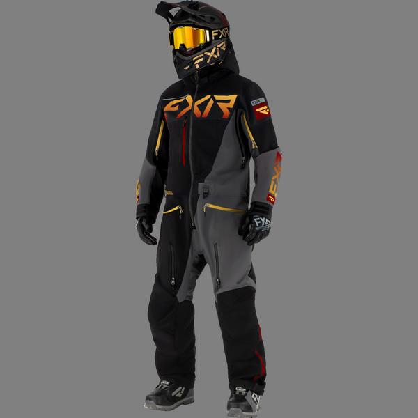 FXR 21 M Ranger Instinct Lite Monosuit Black/Char/Gold/Rust
