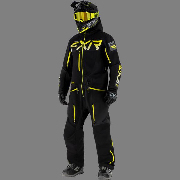 FXR 21 M Ranger Instinct Lite Monosuit Black/Hi vis