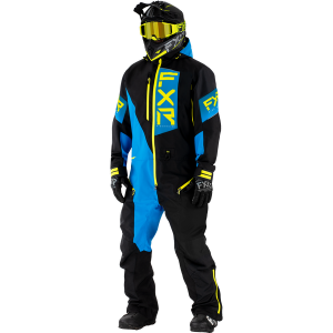 FXR 21 M Recruit Lite Monosuit Black/Blue/Hi vis